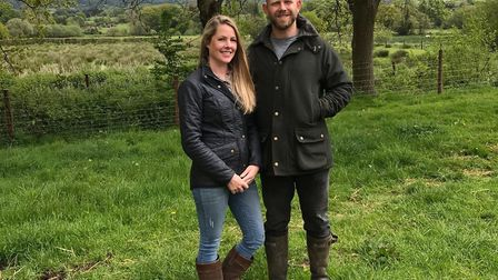 Owners Emily and Luke Knight of Knights Farm Shop are nominated in this year's Farm Shop and Deli Aw