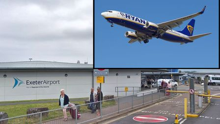 Ryanair to fly from Exeter Airport. Picture: Google Maps/Dylan Agbagni - Wikimedia Commons