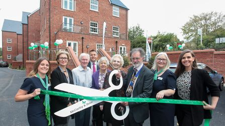 Tumbling Weir retirement complex opens, Picture Kate Patton, Moya Catney, Donald Dean Sam Burley,Ber