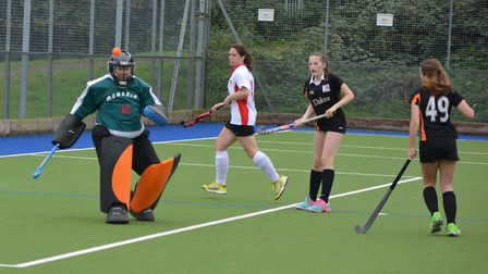 SOHC ladies third team at home against ECVH 2. Played at Ottery St Mary, SOHC won 2-1. Picture: Andr
