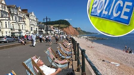 Sidmouth police reveal their top priorities in the town. Pictures: Archant