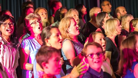 The Sidmouth Sing event at Sidmouth College with Sing Gospel raised 1,480. Picture: Sarah Hall