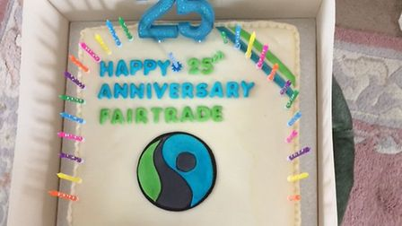 Fairtrade 25th birthday party in Sidmouth. Picture: Sharon Howe