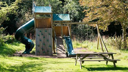 There are a number of play areas for children to enjoy. Picture: Alex Walton