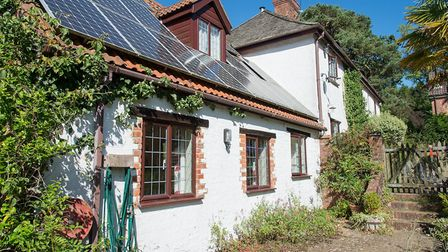 There are six cottages on Mazzard Farm for guests to choose from. Picture: Alex Walton
