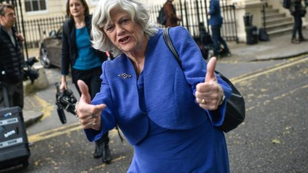 Brexit Party MEP Ann Widdecombe - unsurprisingly - has no relation to Josh Widdicombe. Photo by Pete