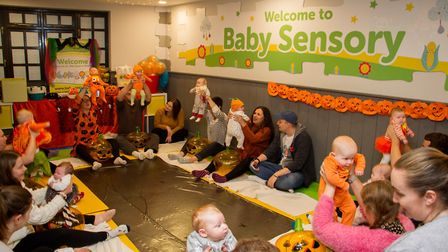 New Baby Sensory centre in Ottery. Ref sho 45 19TI 3283. Picture: Terry Ife