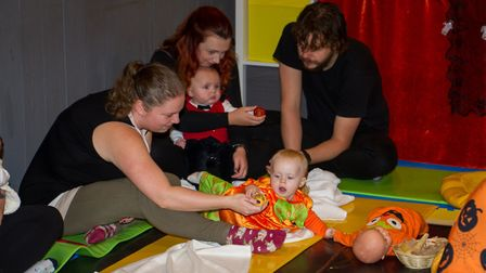 New Baby Sensory centre in Ottery. Ref sho 45 19TI 3303. Picture: Terry Ife