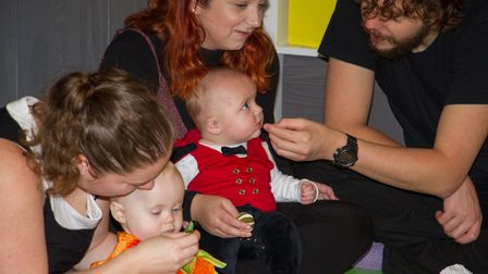 New Baby Sensory centre in Ottery. Ref sho 45 19TI 3305. Picture: Terry Ife