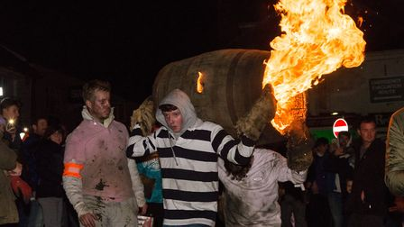 Ottery Tar Barrels 2019. Picture: Alex Walton Photography