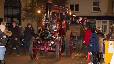 Sidmouth christmas lights switch on. Ref shs 47 18TI 5263. Picture: Terry Ife