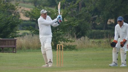Phil Tolley in action for Tipton CC during the 2019 season, one that ended with him receiving the cl