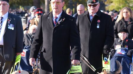 John Evans from Talaton will be marching with other blind veterans on Remembrance Sunday. Picture: B