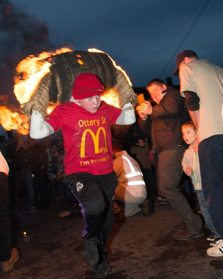 Ottery Tar Barrels. Picture: Alex Walton Photography