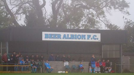 Beer Albion Reserves at home to Winkleigh in the Bill Slee Cup. Ref mhsp 44 19TI 2617. Picture: Terr