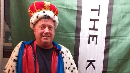 Kevin Lloyd was crowned King of Chit back in August. Picture: Adrian Rickett