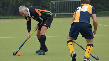 SOHC men's second team against West Dorset. Played at Sidmouth, the visiting side won 1-3. Picture A