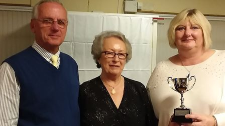 The Sidmouth Bowls Club 2019 outdoor season annual supper and trophy presentations. Picture CAROL SM