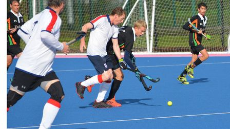 Sidmouth and Ottery men's fourth team versus Taunton Vale E. Picture: Harriet Coley