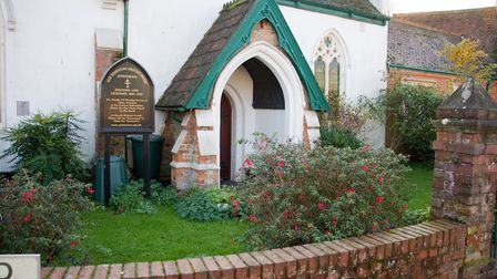 Unitarian Church in Sidmouth. Ref shs 46 19TI 4098. Picture: Terry Ife