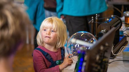 Visitors enjoyed themselves at Sidmouth Science Festival 2019. Picture: Kyle Baker Photography