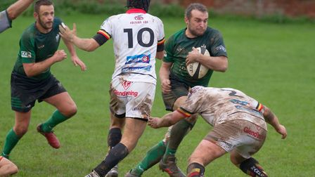 Sidmouth Chiefs win at home to Newton Abbot by 32 points to 9. Ref shsp 44 19TI 2755. Picture: Terry