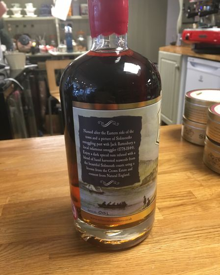 Port Royal Rum is the latest in the Sidmouth alcohol range. Picture: Clarissa Place