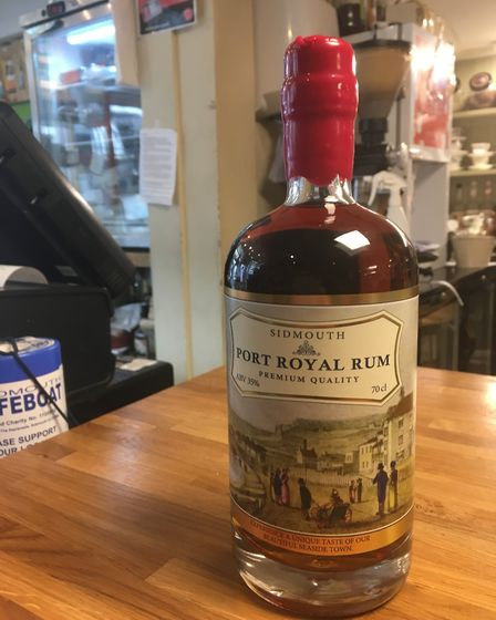 Port Royal Rum pays homage to Sidmouth's smuggling history. Picture: Clarissa Place