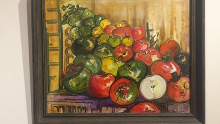 Painting by Anne La Bouchardiere. Picture: Kennaway House
