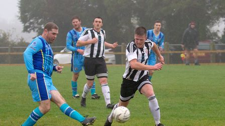 Beer Albion Reserves at home to Winkleigh in the Bill Slee Cup. Ref mhsp 44 19TI 2664. Picture: Terr