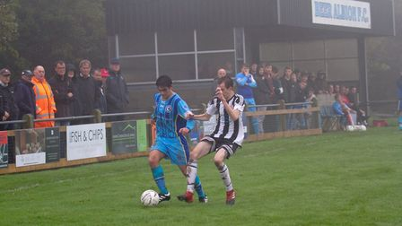 Beer Albion Reserves at home to Winkleigh in the Bill Slee Cup. Ref mhsp 44 19TI 2648. Picture: Terr