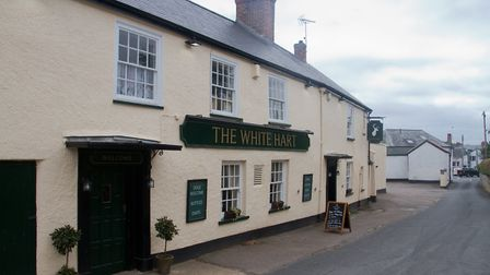 The White Hart in Woodbury. Ref exe 31 18TI 9203. Picture: Terry Ife