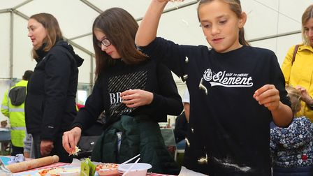 The Donkey Sanctuary Family Food Fair. Picture: The Donkey Sanctuary