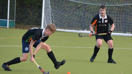 Sidmouth and Ottery Hockey Club men's second team against Yeovil and Sherborne on November 16, 2019.