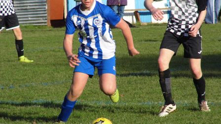 Ottery St Mary Under-14s player Will Reid. Picture: STEPHEN UPSHER