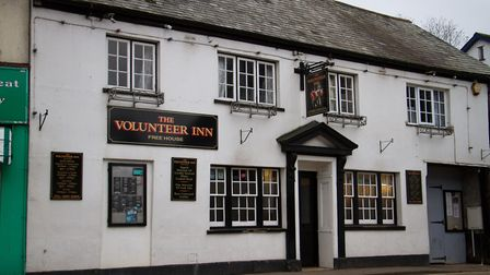The Volunteer Inn, Ottery. Ref sho 43 17TI 2340. Picture: Terry Ife