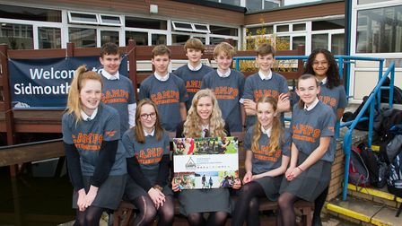 Sidmouth College students are holding a fundraising Christmas Fair for their trip to Kenya. Ref shs
