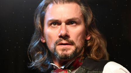 Nick Wilkes as Charles Dickens. Picture: Contributed