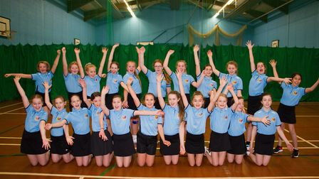 King's school year 7 pupils in their PE Kit. Ref sho 48 19TI 5200. Picture: Terry Ife