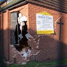 The damaged Church of St Anthony in ottery. Ref sho 47 19TI 4735. Picture: Terry Ife