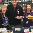 Staff at McColls in West Hill held a fundraiser for Great Ormond Street Hospital. Picture: Michaela