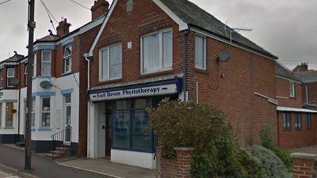 Sidford's physio centre could be downsized. Picture: Google