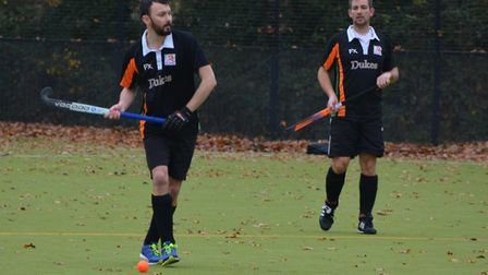 Sidmouth and Ottery Hockey Club men's second team vs East Devon. Picture: Andrew Coley