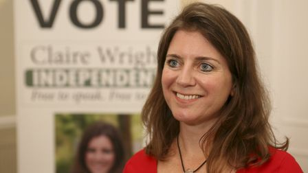 Claire Wright is standing as an Independent Prospective Parlimentary Candidate in the East Devon sea