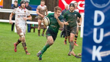 Sidmouth Chiefs win at home to Newton Abbot by 32 points to 9. Ref shsp 44 19TI 2757. Picture: Terry