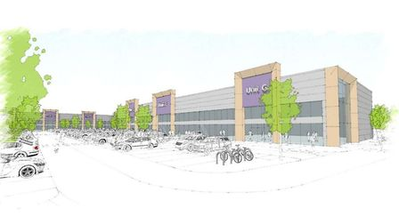 Artist impression of the Moor Exchange retail plans. Picture: CPG