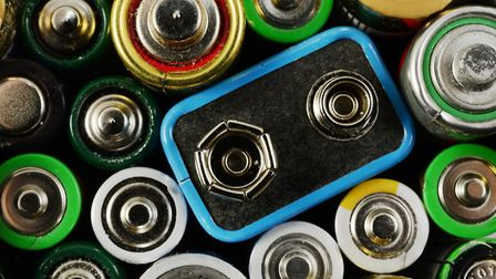 Batteries are believed to be the cause of two fires at the recycling centre. Picture: Getty Images/i