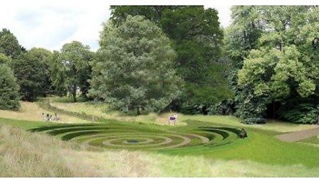Artist's impression of the proposed phase two works at the Knowle. Picture: Devon County Council