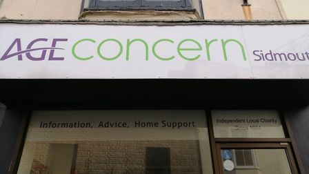 Age Concern has closed its office in Sidmouth. Picture: Callum Lawton
