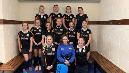 The Sidmouth and Ottery Hockey Club ladies 1st XI who head into the festive break still sporting a 1
